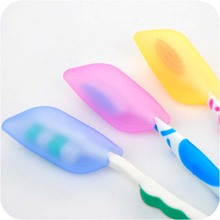 Силиконовый чехол для зубных щеток для дома, для путешествий, защита кистей, высокое качество, портативная Крышка для щетки, защитный рукав, 1 шт