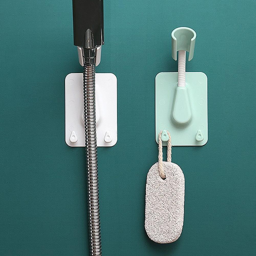 Регулируемый держатель для душевой лейки, ручка на присоске, крепежный кронштейн для насадки, Бытовые аксессуары для ванной комнаты, запчас...