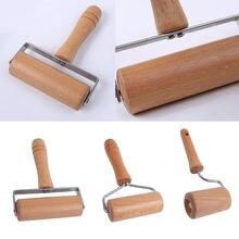 Деревянный роликовый штифт ручной валик для теста помадки печенья
