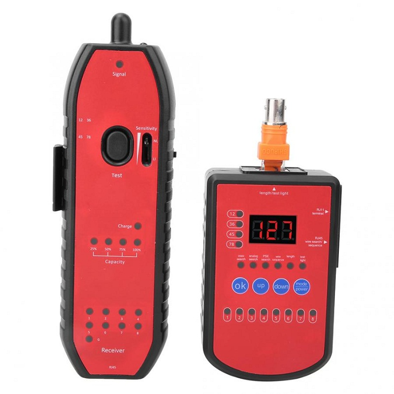 New  RJ11 RJ45 Cat5 Cat6 Telephone Wire Tracker Tracer Tool Toner Ethernet LAN Network Cable Tester Detector Line Finder