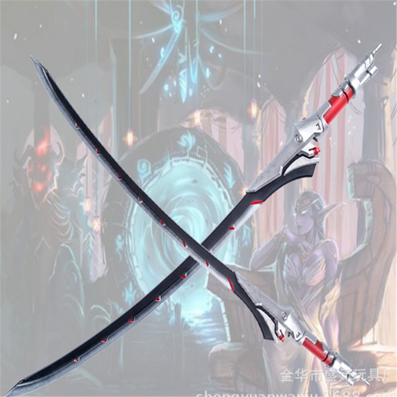 Cosplay OW Overwatch PU rubber sword Genji props weapon animation game peripheral toys 105cm