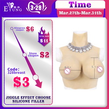 38DD realistic silicone breast prosthesis for crossdresser Transgender shemale breast form for women undergoing mastectomy