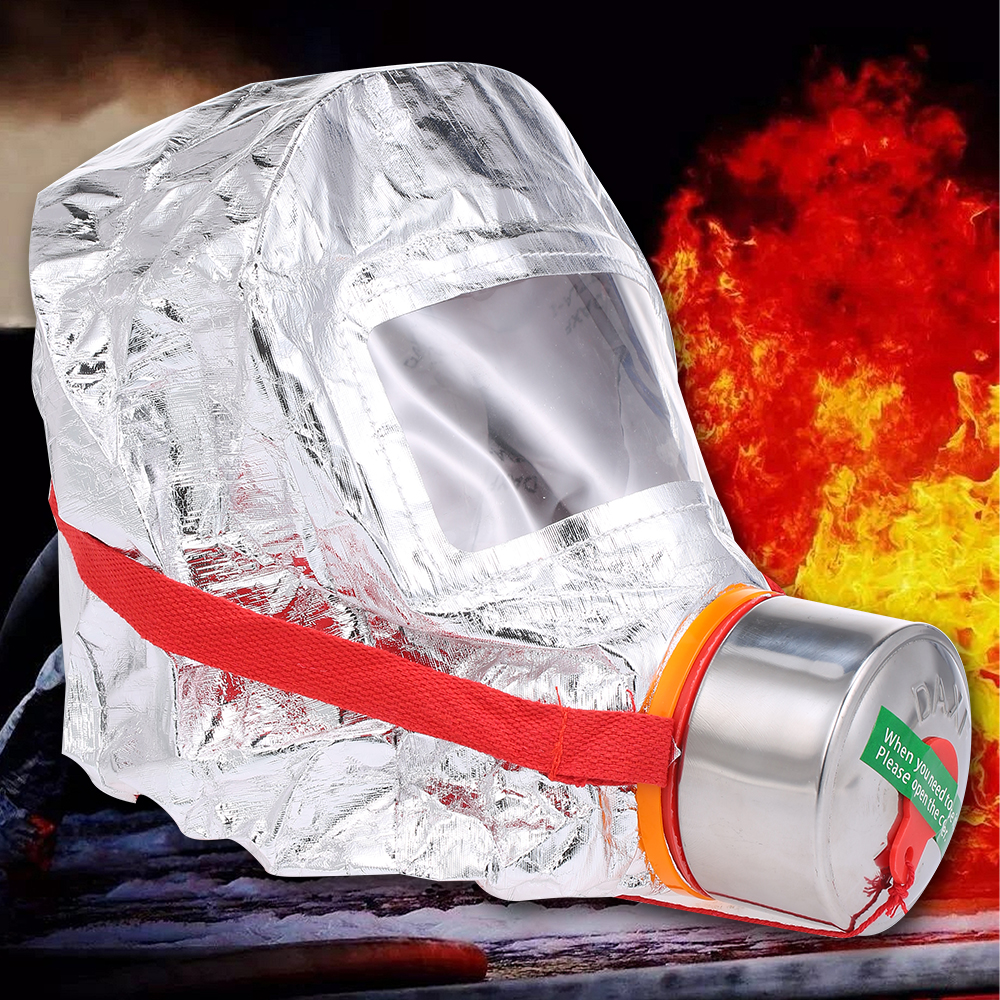 Image 4 - Пожарная маска Eacape для лица, самоспасательный респиратор,  противогаз, дымовая защитная маска для лица, личный аварийный  самоспасательПожарные респираторы