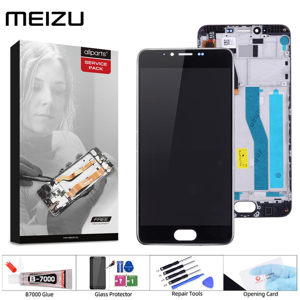 Original Display For MEIZU M5 Display Touch Screen Digitizer With Frame M611H Display Module For MEIZU M5 LCD Replacement