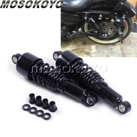 260mm Motorcycle 10.5 Rear Shock Absorber Suspension For Harley Dyna 1991 2016 Touring FLH/FLT 1980 17 Sportster 883 Iron 1200