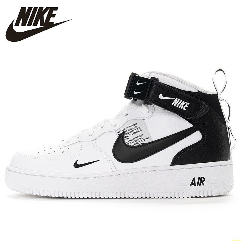 Nike Air Force 1 New Arrival Men Skateboarding Shoes Anti-Slippery Air Cushion Original Outdoor Sports Sneakers #804609
