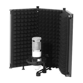 Placa à Prova De Som Abs Som-absorvente Capa Microfone Isolamento Acústico Tela Placa à Prova De Som