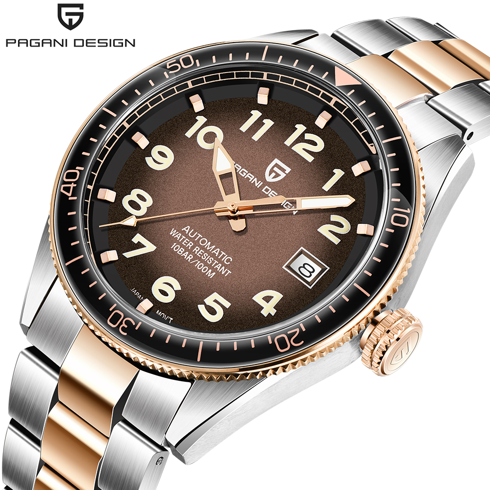 PAGANI Design Men Watch 2020 Luxury Business Sport Mechanical Wristwatch Brand Men Watches Automatic Stainless Steel Waterproof
