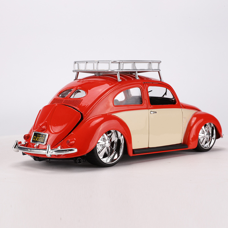 Maisto 1: 18 1971 Volkswagen Beetle Alloy Car Model Retro Vintage Car Model
