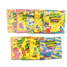 9 Favors Stoner Patch Dummies Packaging Zip Lock Packing Bags 500mg Stoner Patch Candy Mylar Package Bags
