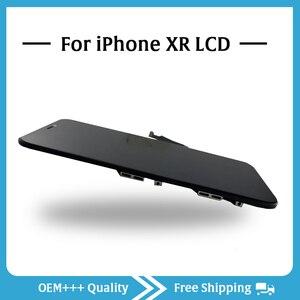 Image 4 - Sınıf AAA en kaliteli iPhone XR LCD orijinal hiçbir ölü piksel ekran 3D dokunmatik ekran montaj değiştirme ile Pantalla araçları
