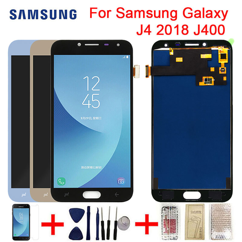 LCD For Samsung Galaxy J4 2018 J400 LCD Display Touch Screen Digitizer J4 2018 Screen Assembly PartsMobile Phone LCD Screens   -
