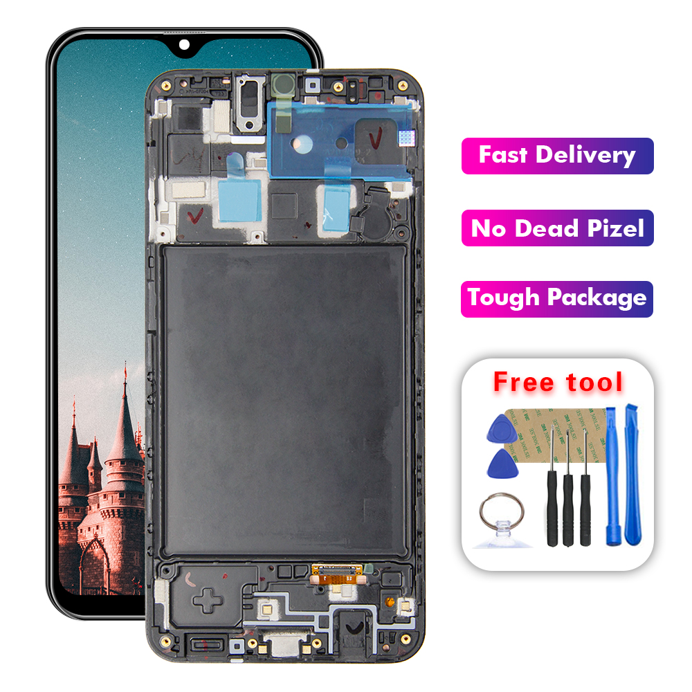 For Samsung Galaxy A20 A205U SM-A205G A205F Lcd Display Touch Screen Digitizer Assembly