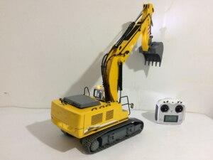 Image 3 - Upgraded Version RTR Full metal 1/12 RC excavator/RC hydraulic excavator model
