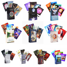 Mystic Witch Tarot Cards Game Oracle Cards Tarot Table Card Board Games For Party Playing Tarot Cards Entertainment Family Game gypsy witch fortune telling playing cards