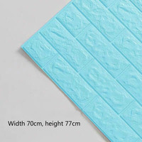 Blue 3.5mm thick