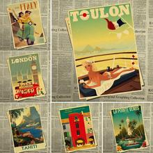 italy travel póster RETRO VINTAGE