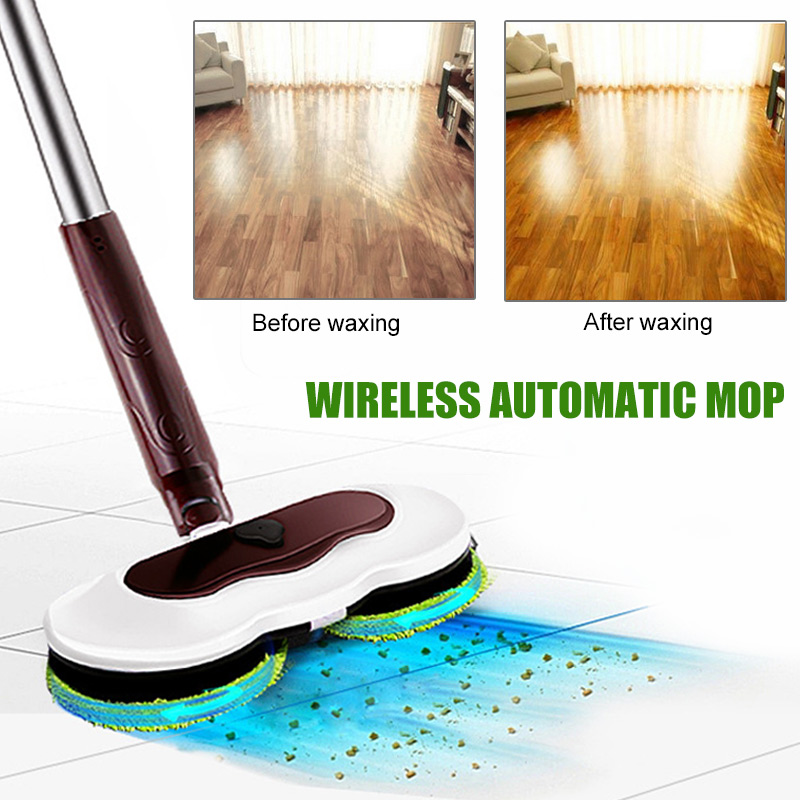 Multifunctional Electric Mop Handheld Sweeping Machine Cordless Rechargeable Home Floor Dust Cleaning Mopper Waxing Cleaner