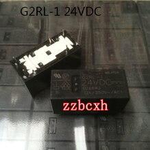 4 PÇS/LOTE Original Novo G2RL-1 24VDC 12A 6PIN