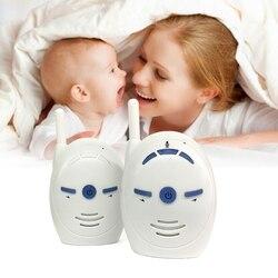 2,4 GHz inalámbrico bebé portátil de Audio Digital Monitor de bebé transmisión sensible de voz de dos vías
