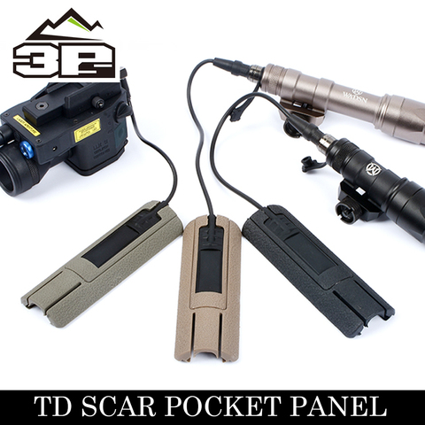Bolso para La-5c Painel de Proteção para M600c Painel Scar Dbal Laser Weaponlightail Remoto – M300a Wmx200 Visão Lanterna td Peq15