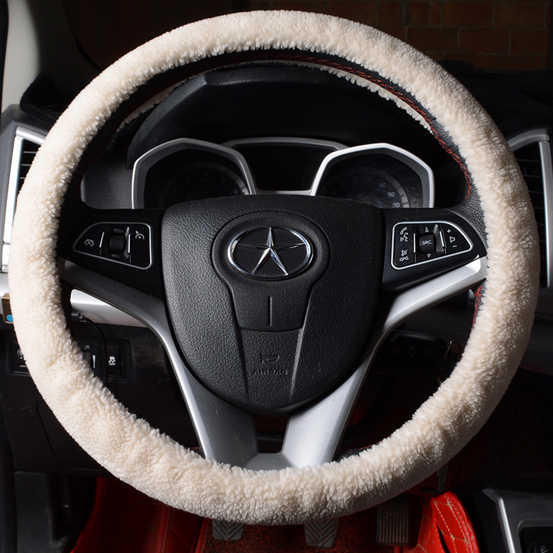 Cross Border For Support Foreign Trade On Behalf Of Wool Steering Wheel Cover Short-Grip Cover