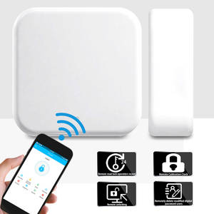 Lock Gateway Wifi-Adapter Remote Bluetooth-App with Usb-Cable Electronic-Door Newest-Version