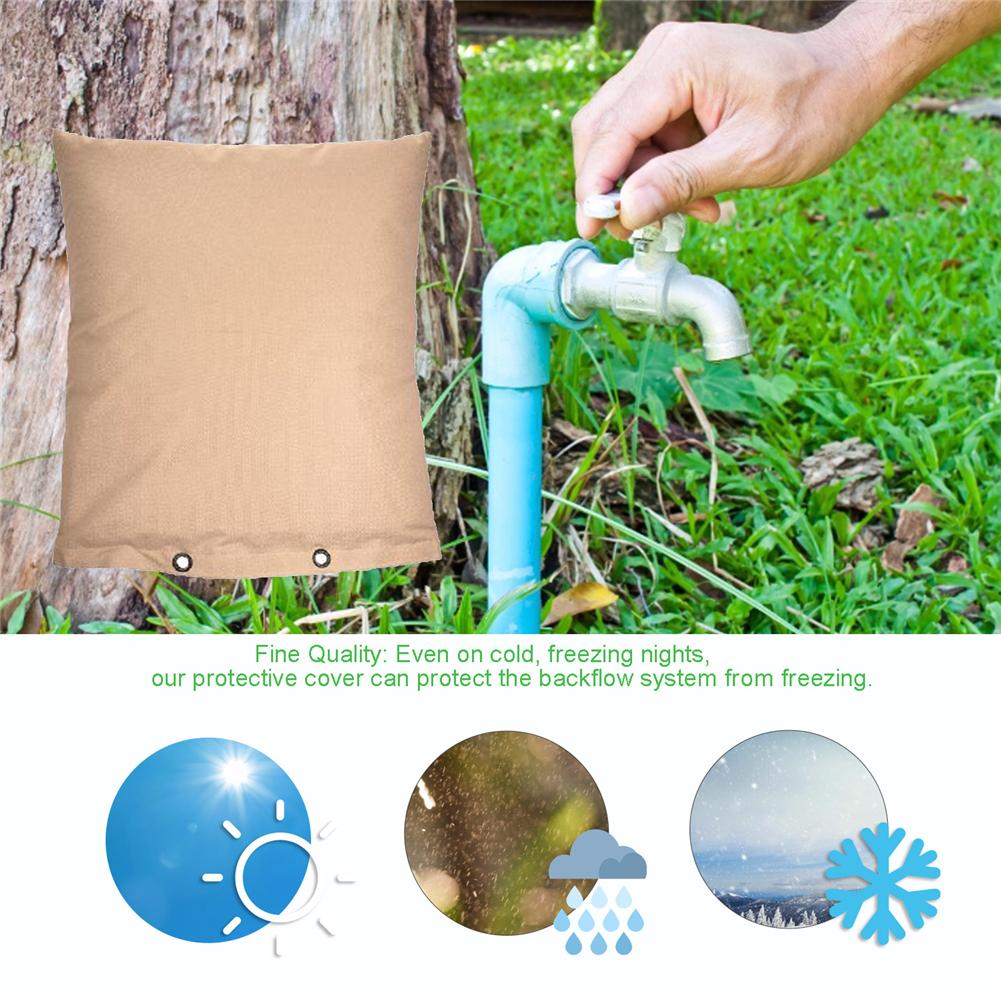 Winter Pipe Faucet Cover Bag Anti Freeze Protect For Outdoor Faucet Sprinkler