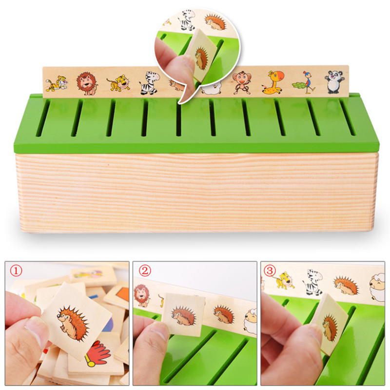 Wooden Box Cognitive Matching  Mathematical Knowledge Baby Number Classification Early Learn Educational Toys Toy For Gift