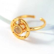 100 dil seni seviyorum yüzük romantik aşk bellek düğün Band paslanmaz çelik evlilik yüzüğü takı altın gümüş Anillos