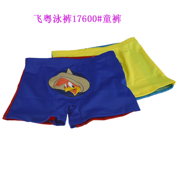 Hot Selling New Style Children Swimming Trunks Cartoon Kids Big Boy Swimming Trunks (Suitable 8-13-Year-Old) 17600