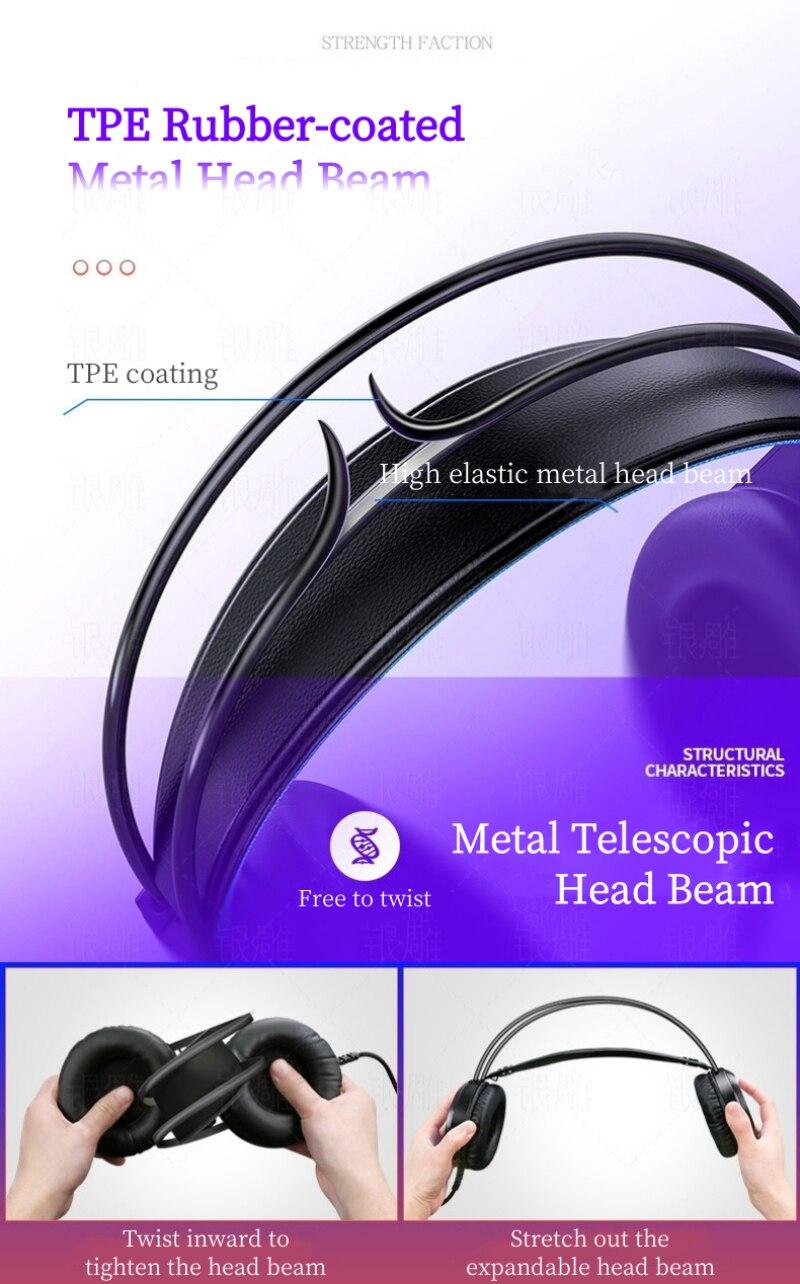 computador portátil uso do jogo profissional fone de ouvido