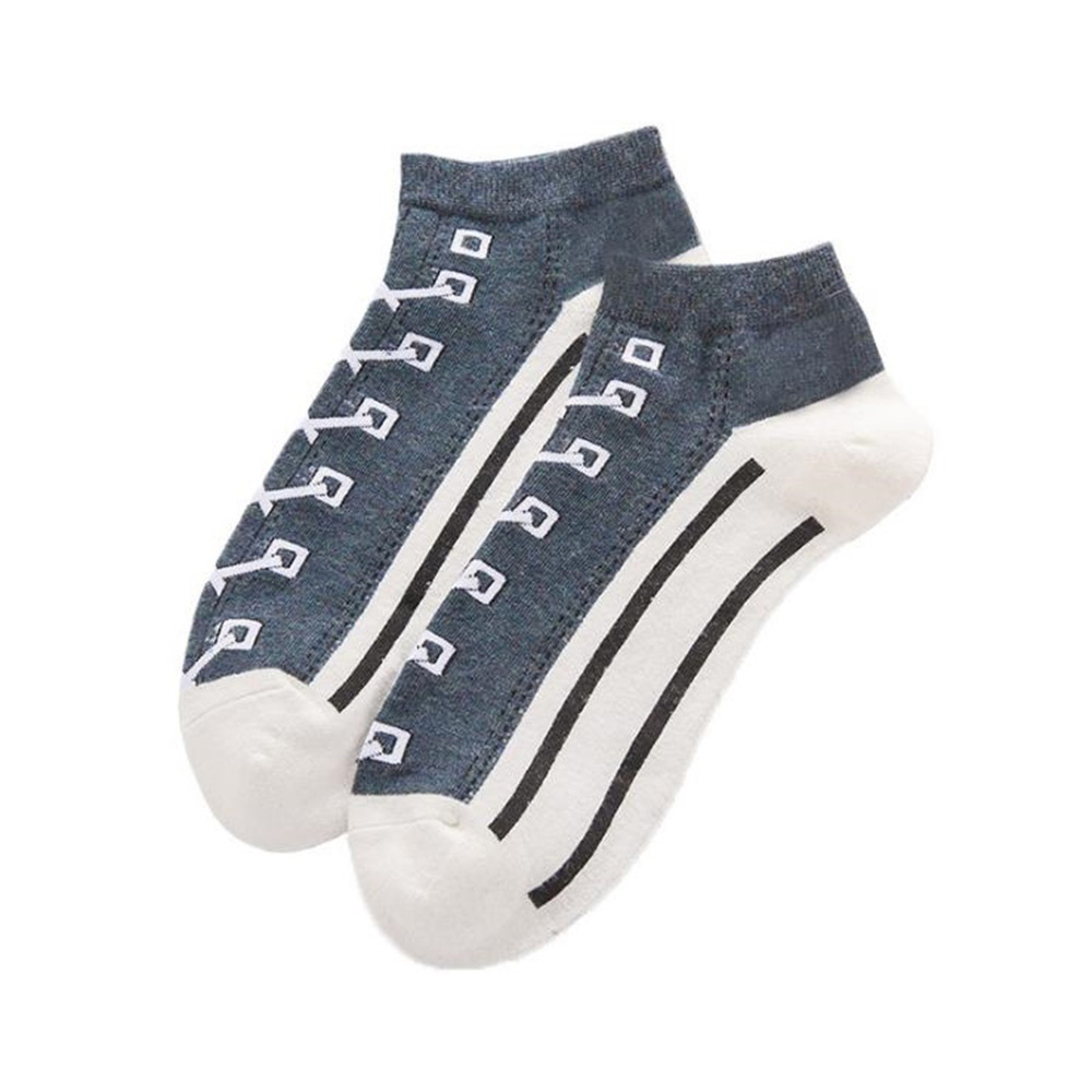 2020 New Men Socks Hit Color Cotton Sports Boat Socks College Style Men Women Casual Wild Canvas Socks Personalized Design Socks