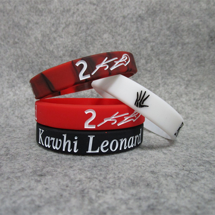 Basketball Star Raptors Kawhi. Leonard Mini Truck Signature Night Light Sports Bracelet Silicone Wrist Strap Bracelets