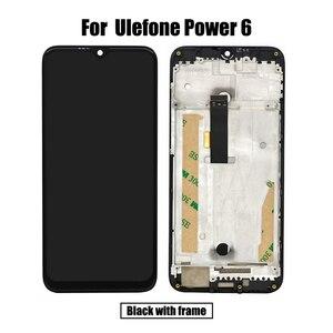 Image 3 - BingYeNingสำหรับUlefone Power 6 LCDและTouch Screen Digitizerกรอบหน้าจอโทรศัพท์อุปกรณ์เสริมเปลี่ยนเครื่องมือ
