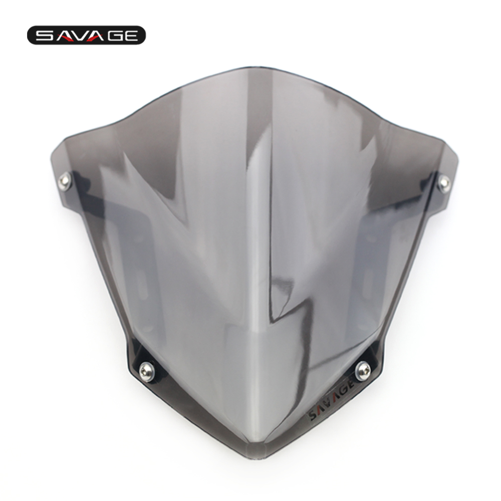 Windshield Windscreen For YAMAHA MT-07 FZ-07 2018 2019 2020 Motorcycle Accessories Pare-brise Wind Deflectors MT07 FZ07 MT FZ 07