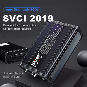 Car-Styling FVDI 2019 ABRITES Commander Scanner With 18 Software Diagnostic Tool 2018 2015 2014 Version SVCI Key Programmer