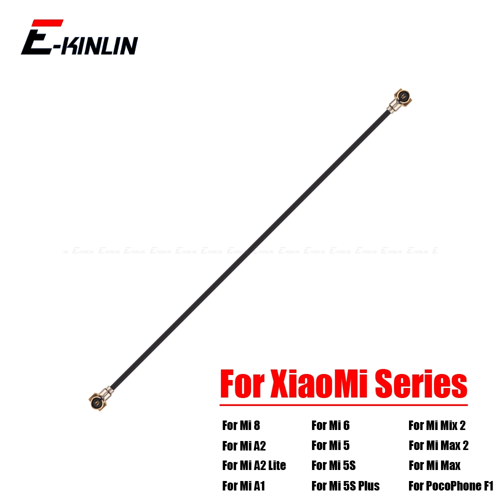 For XiaoMi Mi 8 SE A2 A1 6 5 5S Plus 4 4S 4C 4i Mix 2S Max 2 PocoPhone F1 Wi-Fi Wifi Antenna Connector Signal Flex Cable