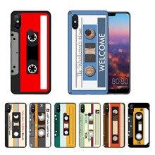 Classic retro cassette tape DIY Printing Drawing Phone Case cover For Xiaomi mi6 mi8 Redmi5 Redmi 5plus MIX2 MIX2S Max2 Max3