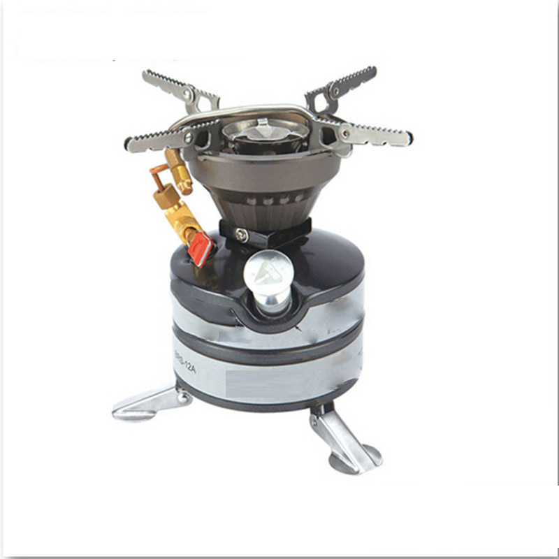 He-Brother Brs-12a Portable Wind Proof Gasoline Stove Outdoor Camping Stove Stove Head Field Picnic Cooker One Piece