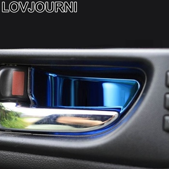 Car Handle Door Interior Decorative Modified Bright Sequins Accessory 09 10 11 12 13 14 15 16 17 18 19 FOR Subaru Outback
