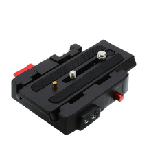 High Quality for Manfrotto 577 501 500AH 701 Aluminum Quick Release Plate Assembly P200 Clamp Adapter Camera Tripod Accessories