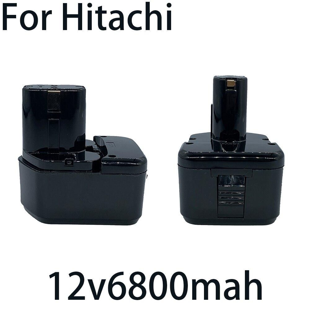 2021For Hitachi EB1214S DS12DVF3 Rechargeable Battery 12V 6.8Ah Ni-MH Cordless Drill Batteria EB1212S EB1220BL EB1214L EB1230