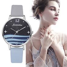 Fashion Woman #8217 s Quartz Watch High-end Blue Glass Stylish Distinguished Ladies Watches Reloj Inteligente Mujer Zegarki Damskie cheap NONE Buckle CN(Origin) Alloy No waterproof simple 16mm ROUND 10mm 22 5cm No package Acrylic 36mm