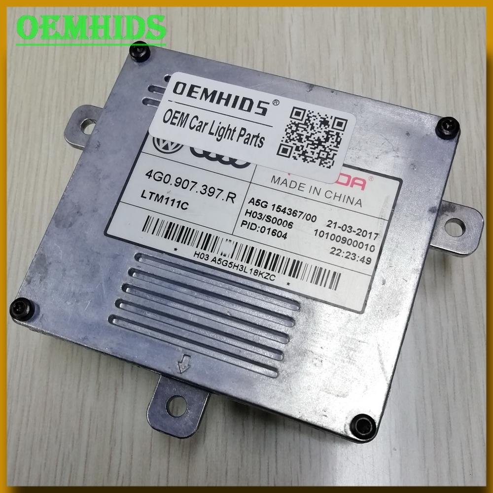 4G0907397R OEM LED DRL LightT Module 1PCS Used Original OEMHIDS Genuine Headlight Control Unit For A6 H03 S0006