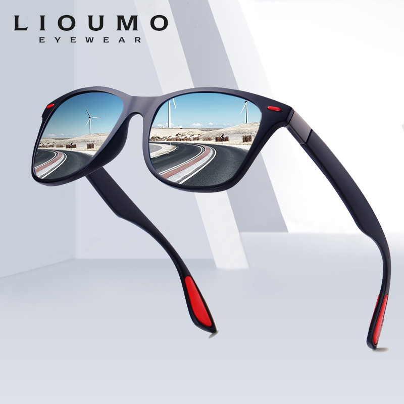 LIOUMO Design Ultralight TR90 Men Women Classic Retro Polarized Sunglasses Driving Outdoor Sport Goggle UV400 Gafas De Sol UV400|Men's Sunglasses| - AliExpress