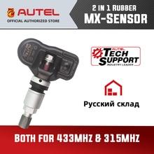 Autel mx sensor TPMS 2 w 1 433MHz 315MHZ MX czujnik dla Autel MaxiTPMS TS601 narzędzie diagnostyczne programowanie ciśnienia w oponach Monitor