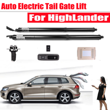 Car Electronics smart automatic electric tail gate lift For Toyota HighLander 2015-2017 2018 Tailgate Remote Control Trunk Lift car electric tail gate lift special for lexus es 2018 easily for you to control trunk
