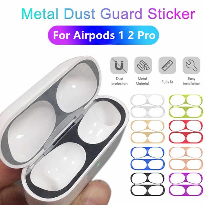 Funda protectora de Metal para Airpods Pro 2 3 1, funda protectora de piel para Airpods Pro 2 3, Eirpods Airpots 2
