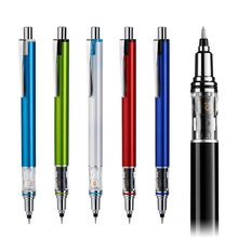 1 pçs japão uni kuru toga M5-559 lápis mecânico 0.5mm rotação de chumbo 6 cores disponíveis